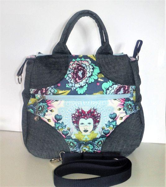 Schultertaschen - Tasche shoulder bag Tula  - ein Designerstück von KiS-Ma bei DaWanda