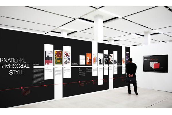 Timeline based on the design period International Typographic Style - ALLISON TOOHEY