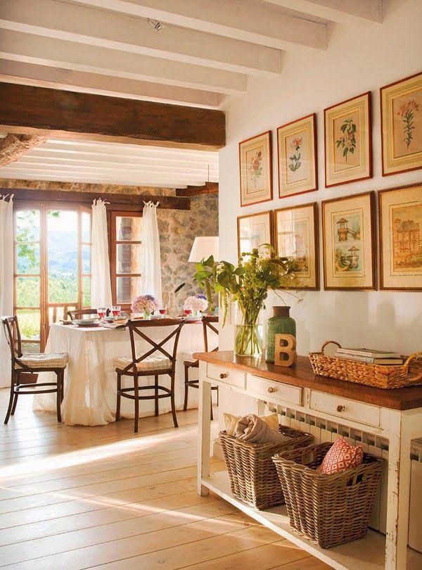 Più di 25 fantastiche idee su Arredamento Casale Di Campagna su Pinterest  Fattoria rustica ...