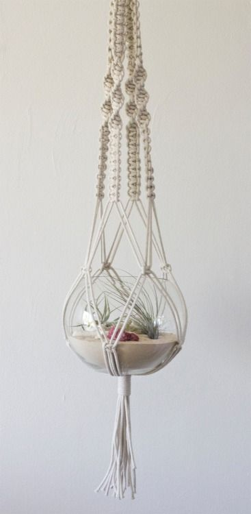 trauermusik I must try this DIY macrame planter planthanger