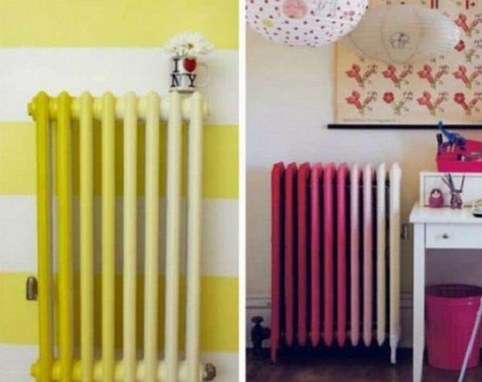 Ako dizajnovo zakamuflovať radiátor