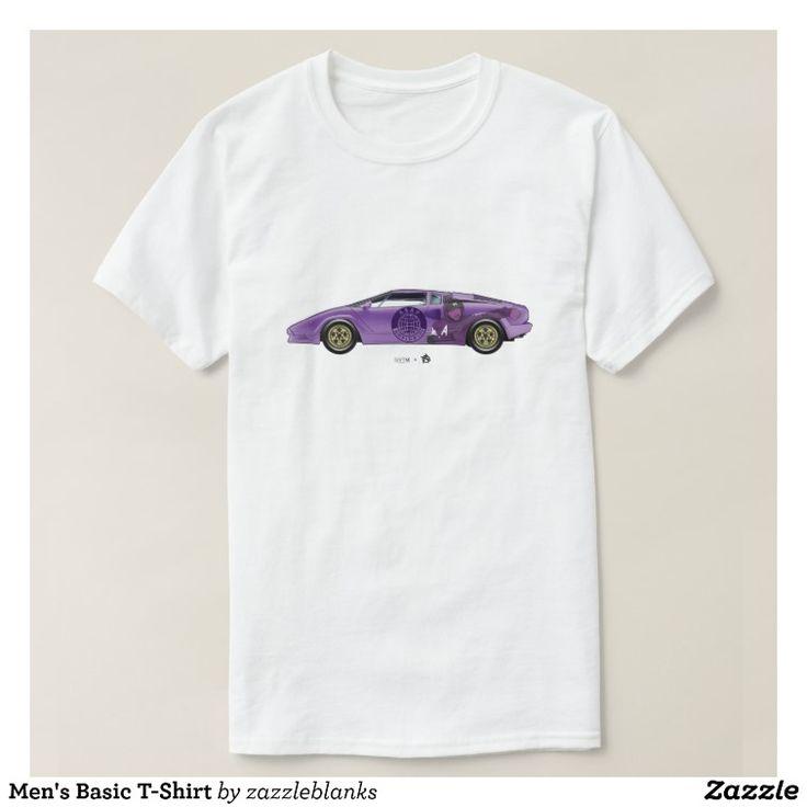 O t-shirt básico dos homens camiseta | Zazzle