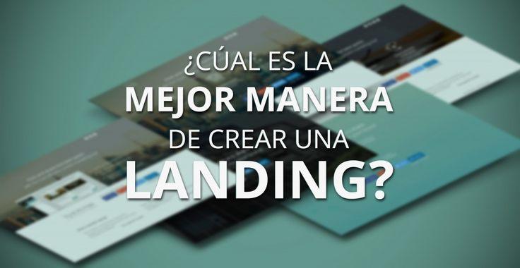 Cómo hacer landing pages: eligiendo tecnología #Marketing #Ayuda #Wordpress