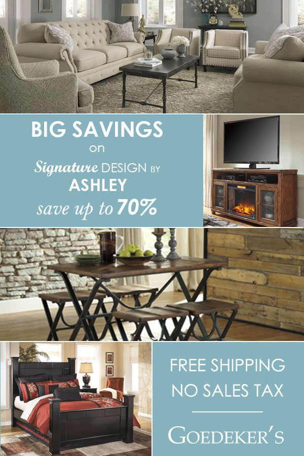 Save Up To 70 On Best Selling Signature Design By Ashley