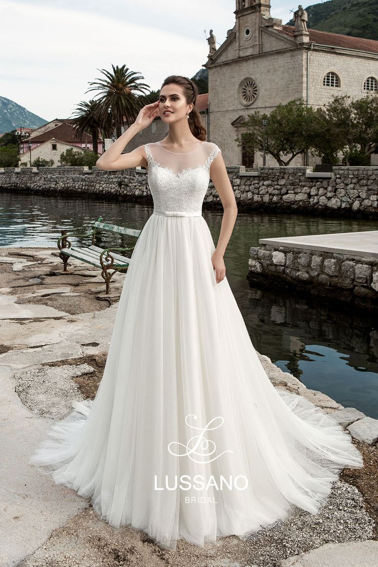 Lussano Bridal 16008, свадебное платье Lussano Bridal, wedding dress, невесты 2017, свадебное платье, bride, wedding, bridesmaid dress, prospective bride, best bride, Wedding Dress A-Line