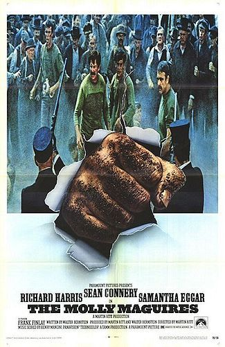 The Molly Maguires ~~~ Only Richard Harris could make me sympathize with this betrayer