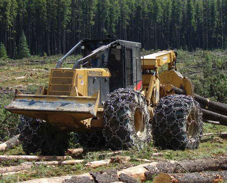 logging skidders   The Baker Boys of Logging