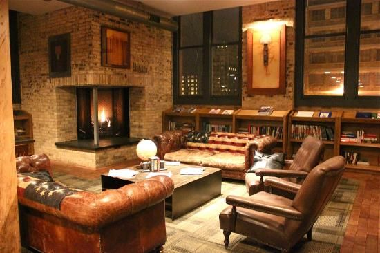Iron Horse Hotel: The Library