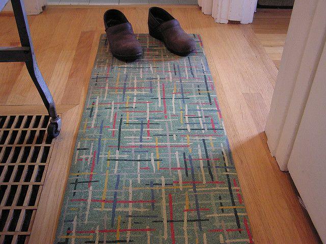 Vintage Linoleum Rug By Doublewinky, Via Flickr