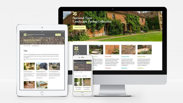 Welcome to the new National Trust Landscape Paving Collection website.  One can view the range and buy paving online with free UK delivery available.