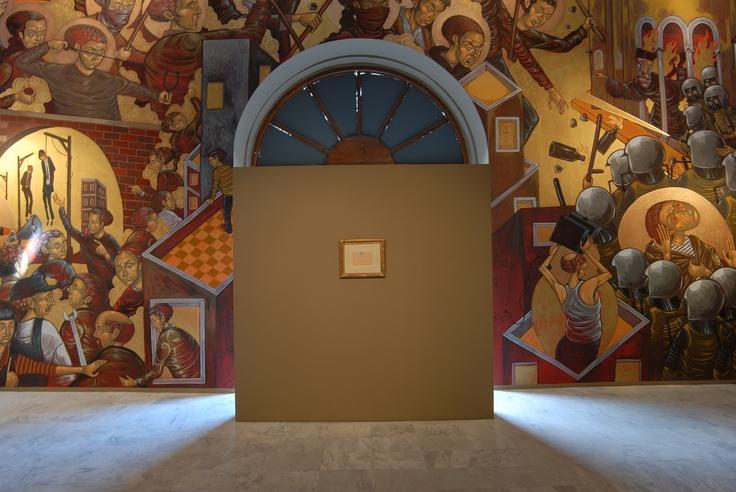 """""""Η κάθε πόλη παίρνει το σχήμα από την έρημο στην οποία αντιστέκεται"""" Απόσπασμα: Ίταλο Καλβίνο, Οι αόρατες πόλεις (από το βιβλίο: Destroy Athens - μια αφήγηση)  Pablo Picasso Le Parthénon (Ο Παρθενώνας), 02/07/1959 Μολύβι σε χαρτί 12,5 x 19,5 εκ. Ιδιωτική συλλογή"""