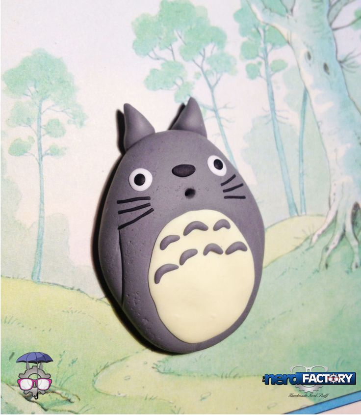 Totoro hand-made! http://www.thenfactory.com/prodotto/totoro/