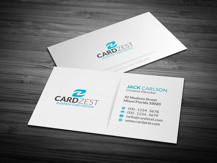 201 best free business card templates images on pinterest free simple blue amp white minimalist business card template cardzest modern inspiration cardfaves best free home design idea inspiration flashek Image collections