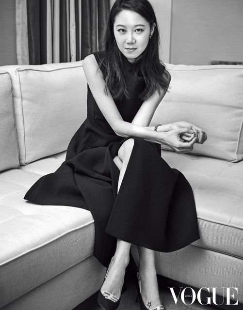 Gong hyo jin for Vogue korea 2017