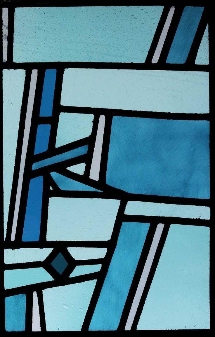 stained glass windows, unique designs, Susanna van der Linden