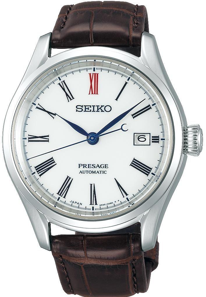 8147f8911 Seiko Presage Watch Mens Porcelain Dial SPB095J1 Pre-Order #add-content  #basel-19 #bezel-fixed #bracelet-strap-aligator #brand-seiko-presage ...