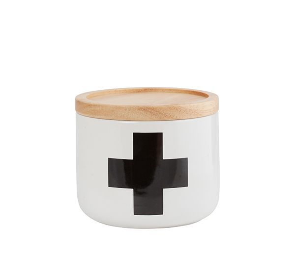 General Eclectic small canister - Black Cross