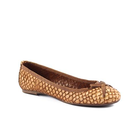 Ballerina   Upper: Snake  Colors: dark brown, tan, beige