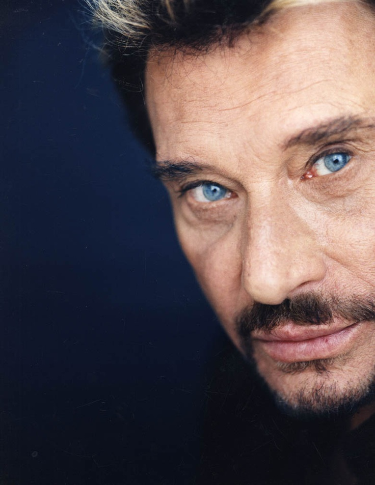 This is the real reason I located to Paris... Johnny Halliday!