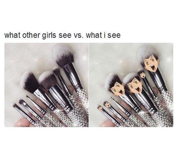 Hahahahha en ehkä kestä | Makeup brush | Koutarou Bokuto from team Fukurodani | Haikyuu!! ✧