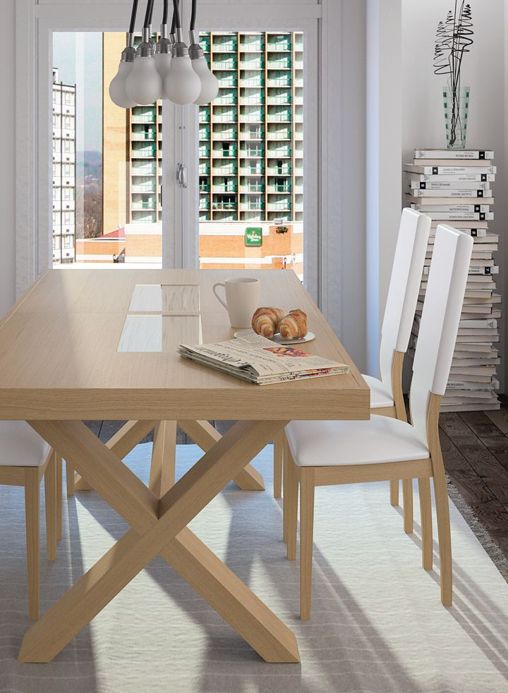 Table by Ernest Menard | Made in France | 10 years guarantee. www.ernest-menard.fr