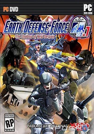 EARTH DEFENSE FORCE 4.1 The Shadow of New Despair mega