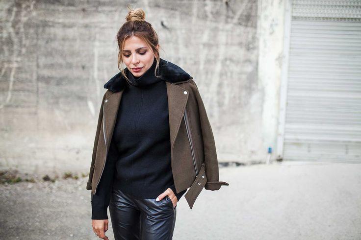 Das schwedische Label Stand steht für wunderschönes Leder sowie zeitgemäße Highlights mit kultigem Flair. Jedes Teil ist puristisch gearbeitet und doch Besonders und lässt sich hervorragend in die Capsule Wardrobe integrieren. #stand #fashion #joseph #jacket #lederhose #autmn #shooting