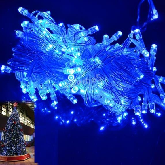 Купить товар10 M 100 из светодиодов синий фары украшение ну вечеринку фестиваль шнурок фары украшение лампа 220 В ес 3F в категории Новогодние декорациина AliExpress.      10 м 100 Светодиодный синие огни Декоративные Рождественский фестиваль света строки украшения лампы 220 В ЕС Беспла
