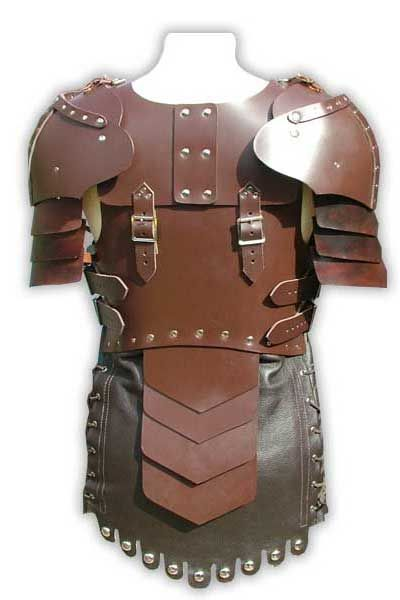 Womens LARP Leather Body Armour, Larp Inn- Body - Leather- For LARP, theatre and film