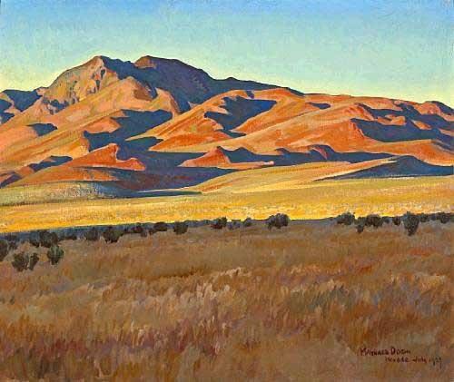 A landscape by Maynard Dixon