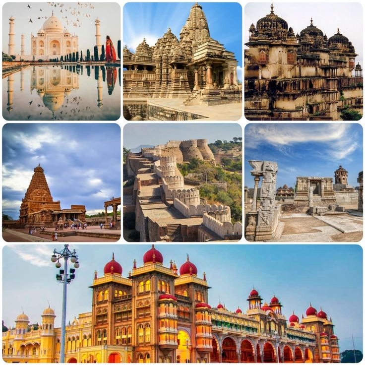list of historical monuments of india pdf
