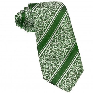 Cravata de lux din matase de Como, realizata manual