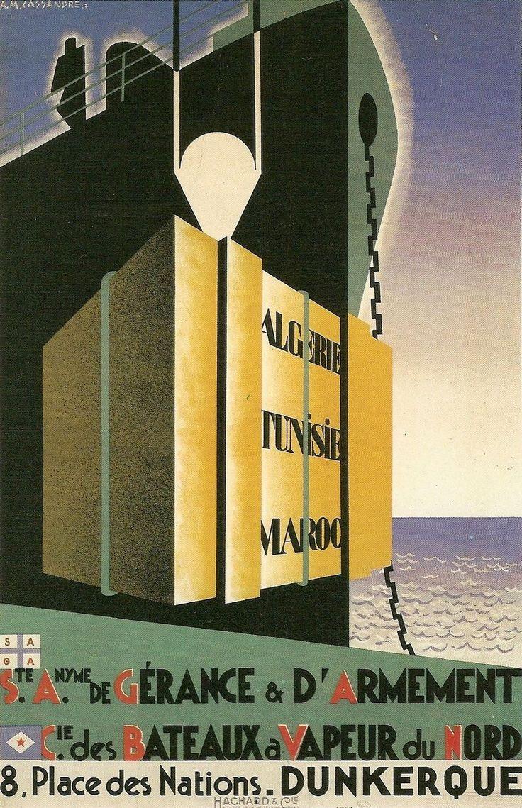 Cassandre Algerie 1927
