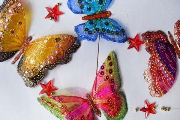 How to make Plastic Bottle Butterflies