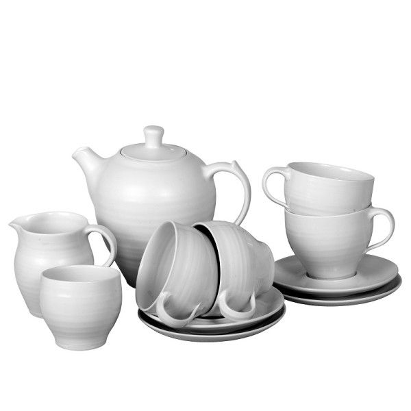 Experience Voucher: Bespoke Tea Set by David Walters (four cup set) | Gifts from Franschhoek