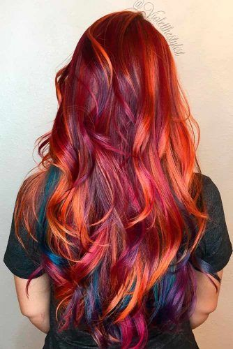 Red or Pink Hair Color Tones – Elegant and Chic Co…