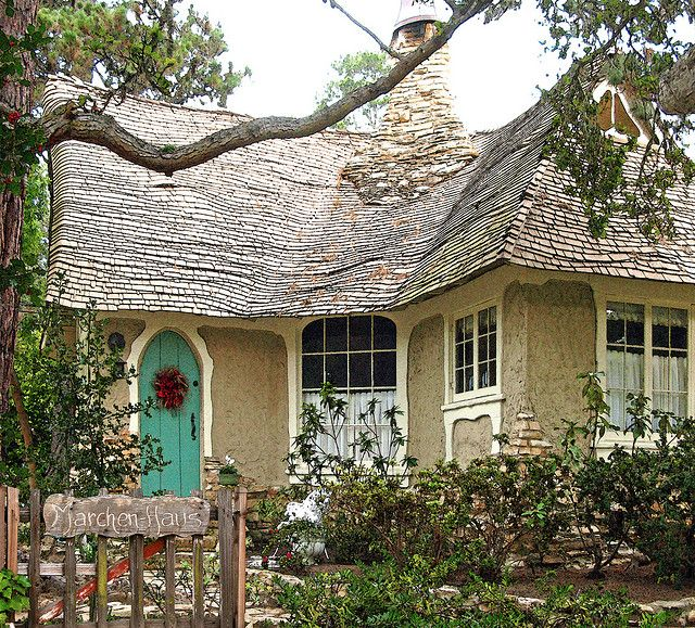 ~Marchen-Haus (means Fairytale House)~ a cottage in Carmel, CA.  Recently renovated  brought back to life.