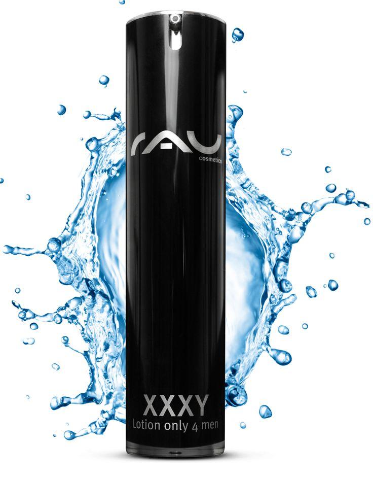 RAU XXXY Lotion only 4 men is een volle crème met een speciaal voor de herenhuid ontwikkeld werkstofcomplex http://www.rau-cosmetics.nl/rau-cosmetics/11/rau-xxxy-lotion-only-4-men-50-ml-volle-fluid-voor-de-verzorging-van-de-mannenhuid #huid #herenhuid #speciaal #creme #schoonheid