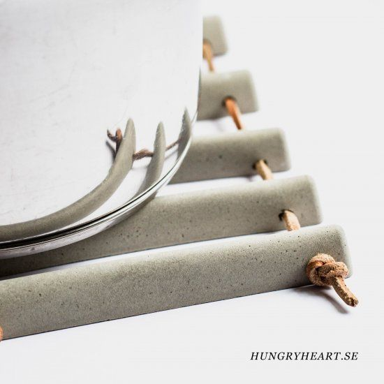 Make this modern trivet that can be transformed into different shapes + sizes. You don't even need a drill! Can you guess how it's made?