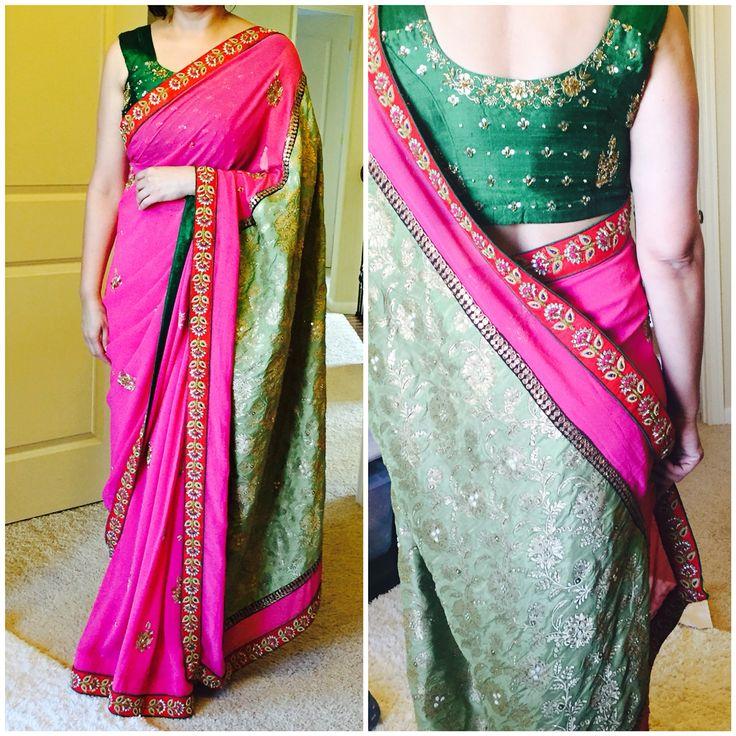 Festive saris @redpaisleys