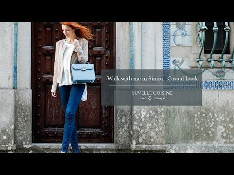 Walk with me in Sintra - Casual Look - YouTube
