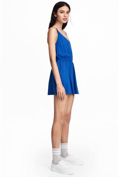 Playsuit - Cornflower blue - Ladies   H&M GB