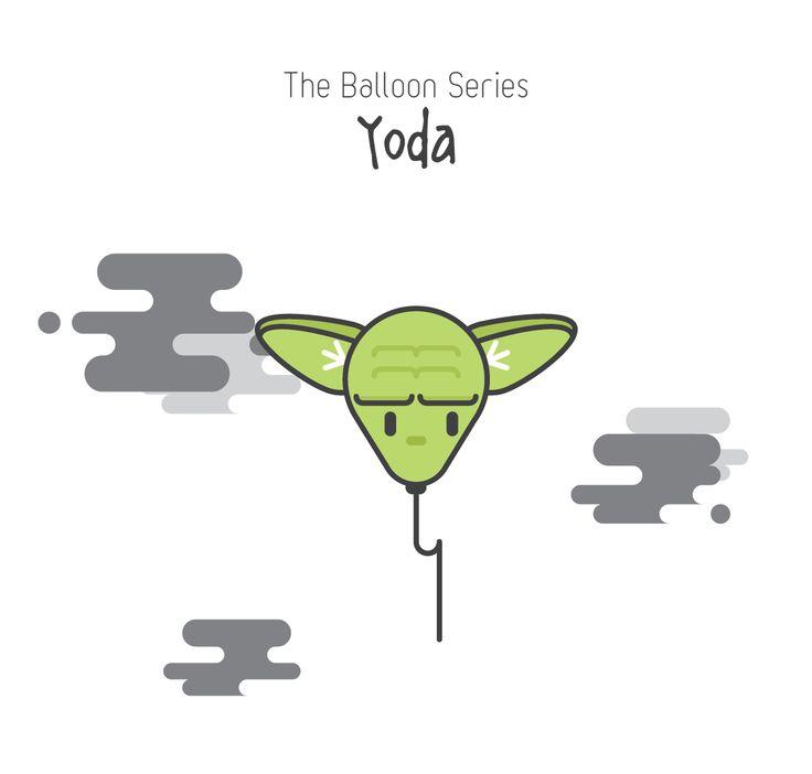 The Balloon Series - Yoda