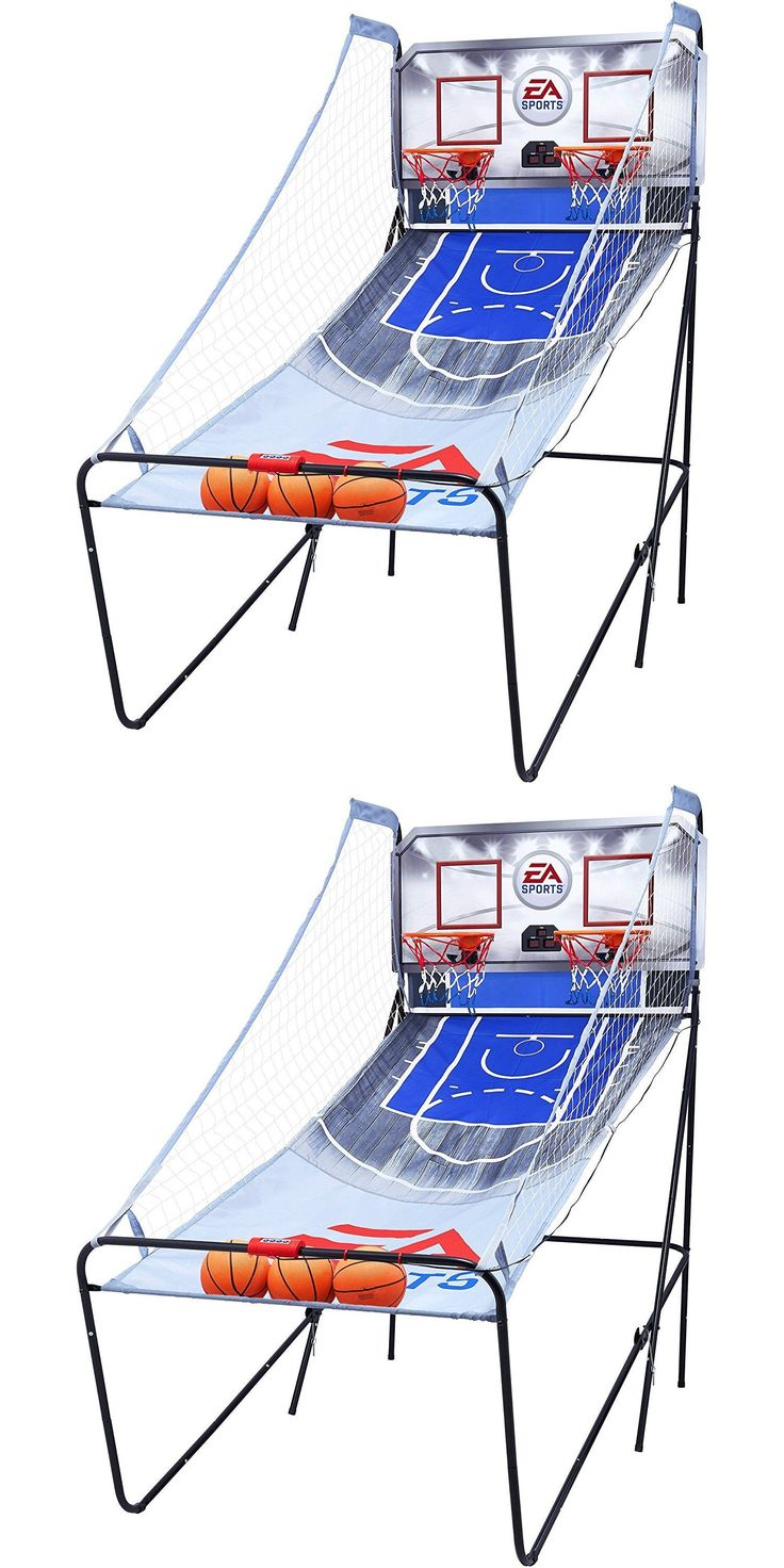 Other Indoor Games 36278: 2 Player Ea Sports Arcade Pop A Shot Electronic Scorer Basketball Game Arcadia BUY IT NOW ONLY: $168.75