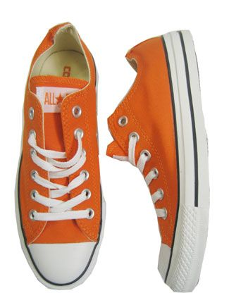 More Orange Sneakers.