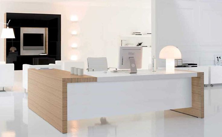 Desk Office Design with stylish italian office chairs and furniture
