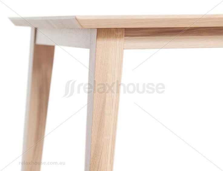 Jutland Natural Solid Oak 280cm X 100cm Dining Table - TON CZ Original
