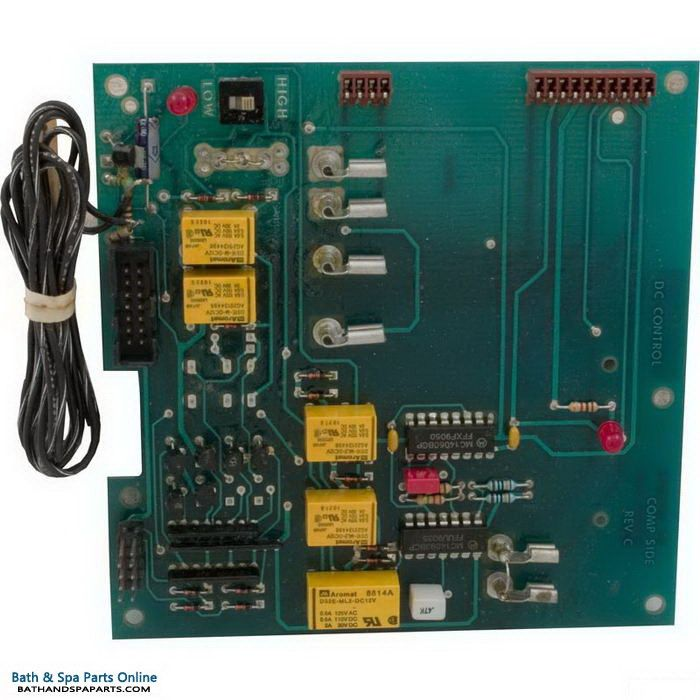 Hydro Spa DC 4-Function PCB Circuit Board [1990 Style] (203027)