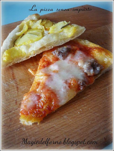 Magie del forno: La pizza senza impasto
