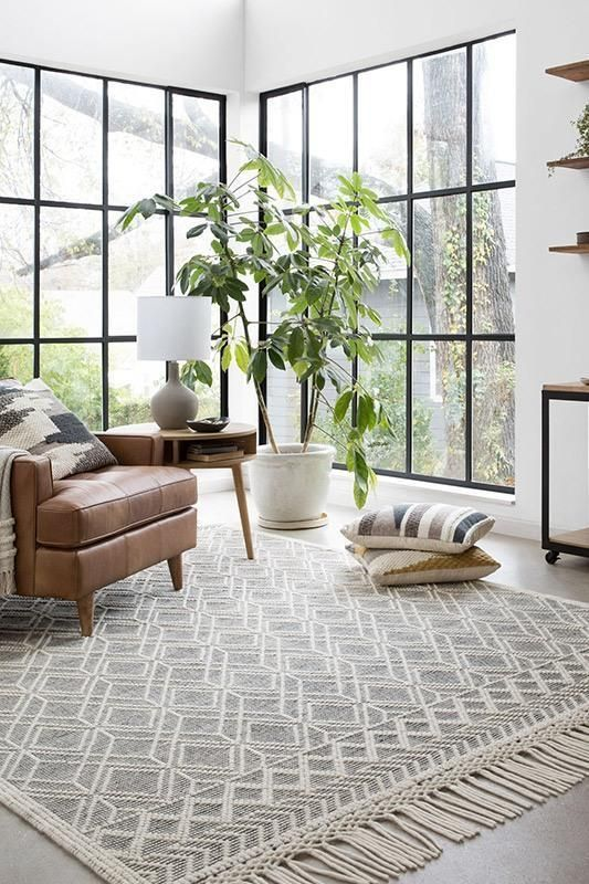 Joanna Gaines Holloway Yh 04 Black Ivory Nw Rugs Furniture